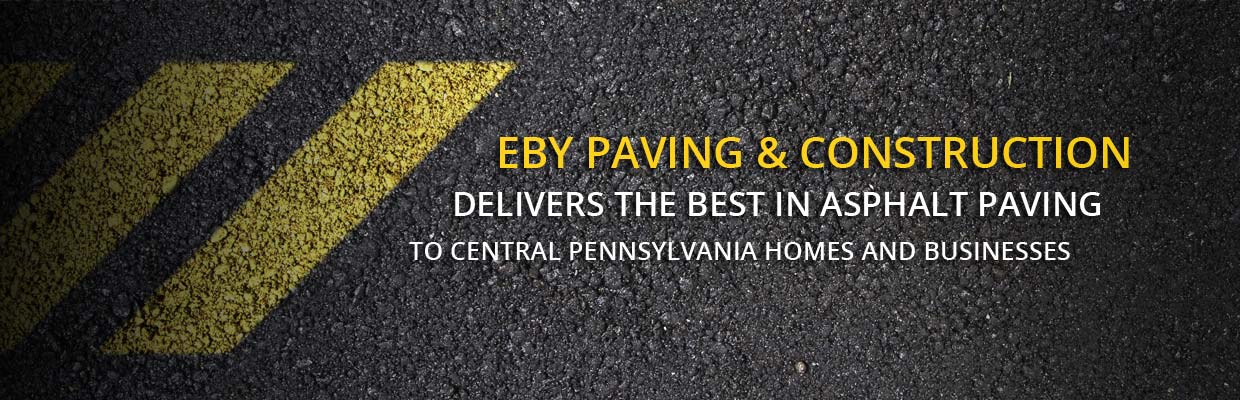EBY Paving & Construction delivers the best in asphalt paving to central Pennsylvania homes and businesses.